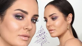 Iridescent Purple Makeup for the Holidays! \\ Chloe Morello