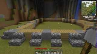 Minecraft - Vertezowe Przygody odc.3 - Budowa szałasu z drabinkami