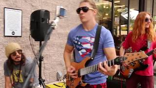 Wholefoods Parking Lot Concert by Dovydas Band