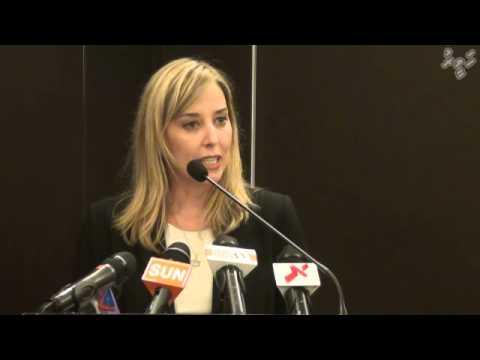 UN press conference