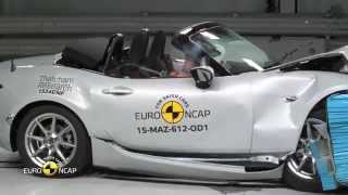 Euro NCAP Crash Test of Mazda MX-5 2015