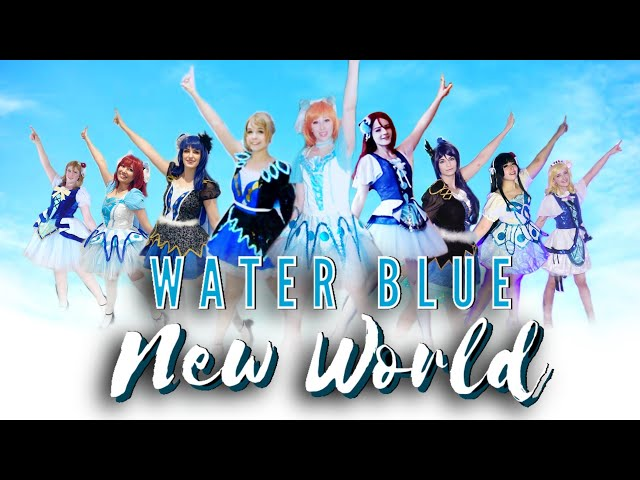 Water Blue New World Virtual Group Cover