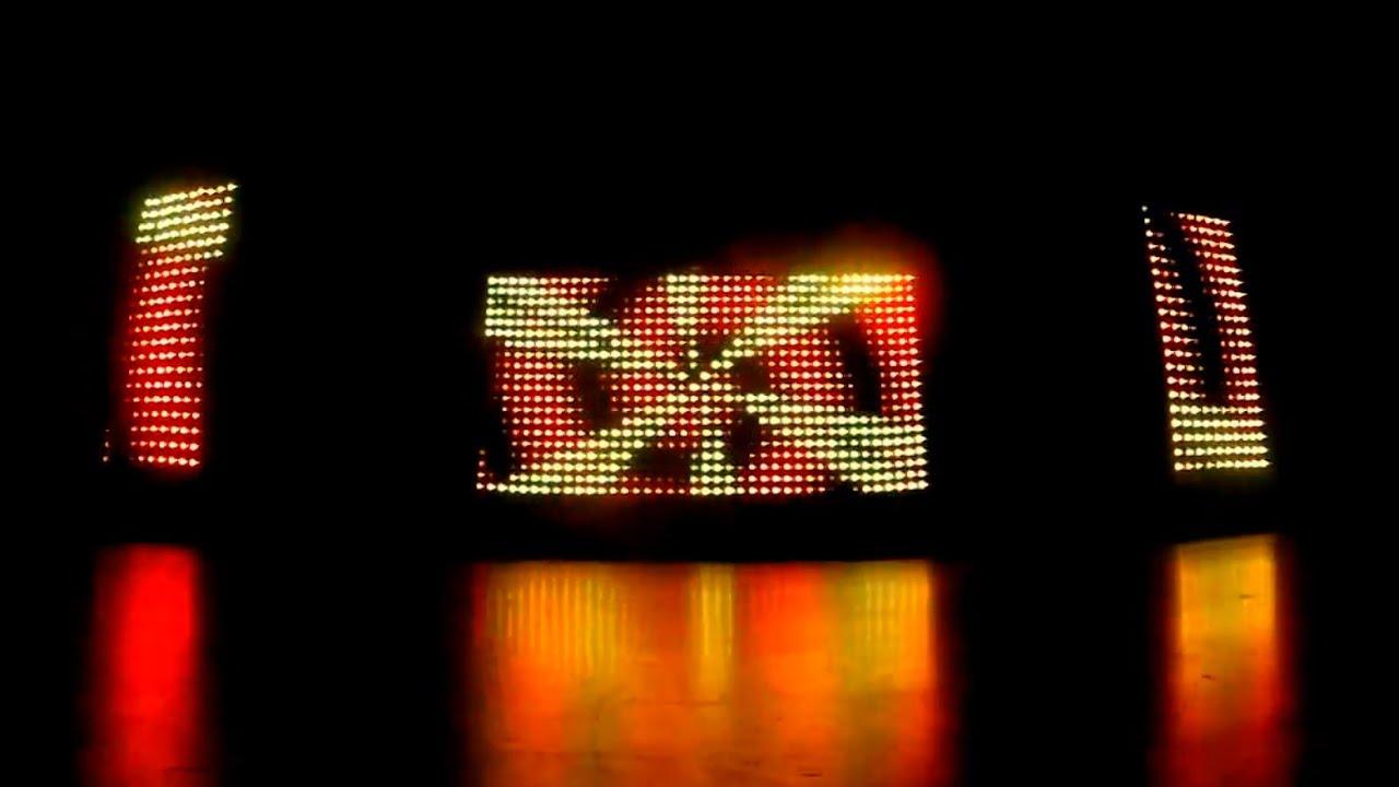 Le Complice-Animation | Rideau LED - YouTube