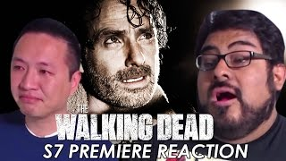 Repeat youtube video The Walking Dead Season 7 Premiere Reaction and Review