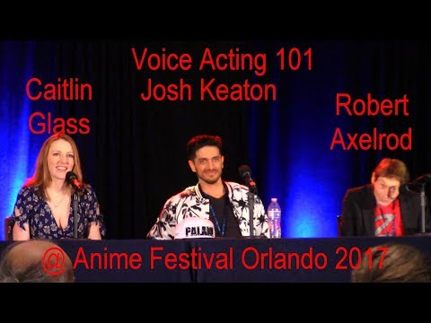 Voice Acting 101 @ Anime Festival Orlando 2017
