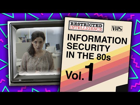 Information Security Awareness In The 80s - Restricted Intelligence - 80s Viral 1