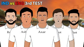 IND vs ENG 3rdTest | Laughter life with azgar