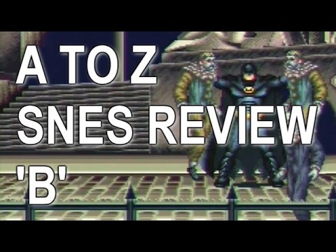A To Z Video Review Of All NTSC SNES Games (Letter B) 1/2