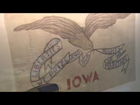 A look inside the Iowa History 101: History on the Move RV