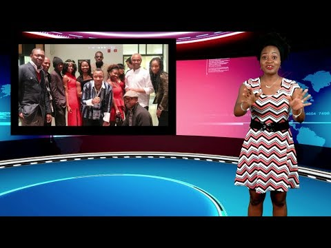 Adeola Says Goodbye To Her Friends At SaharaTV