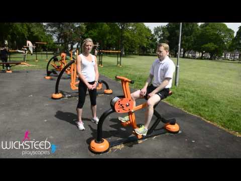 Horseback Rider - Outdoor Fitness Equipment