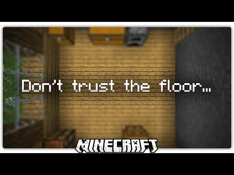 Whatever You Do, Dont Trust The Floor Minecraft