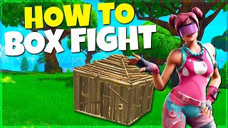The BEST Way To Practice Box Fights! Fortnite Battle Royale