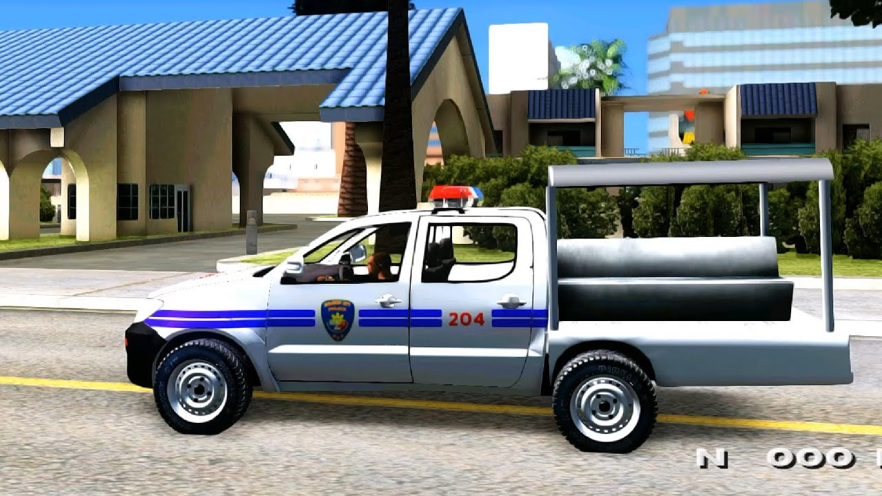2010 Toyota Hilux Philippine Police Car Updated Gta Mod Youtube