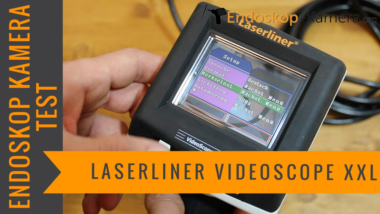 laserliner videscope xxl endoskop kamera test youtube. Black Bedroom Furniture Sets. Home Design Ideas