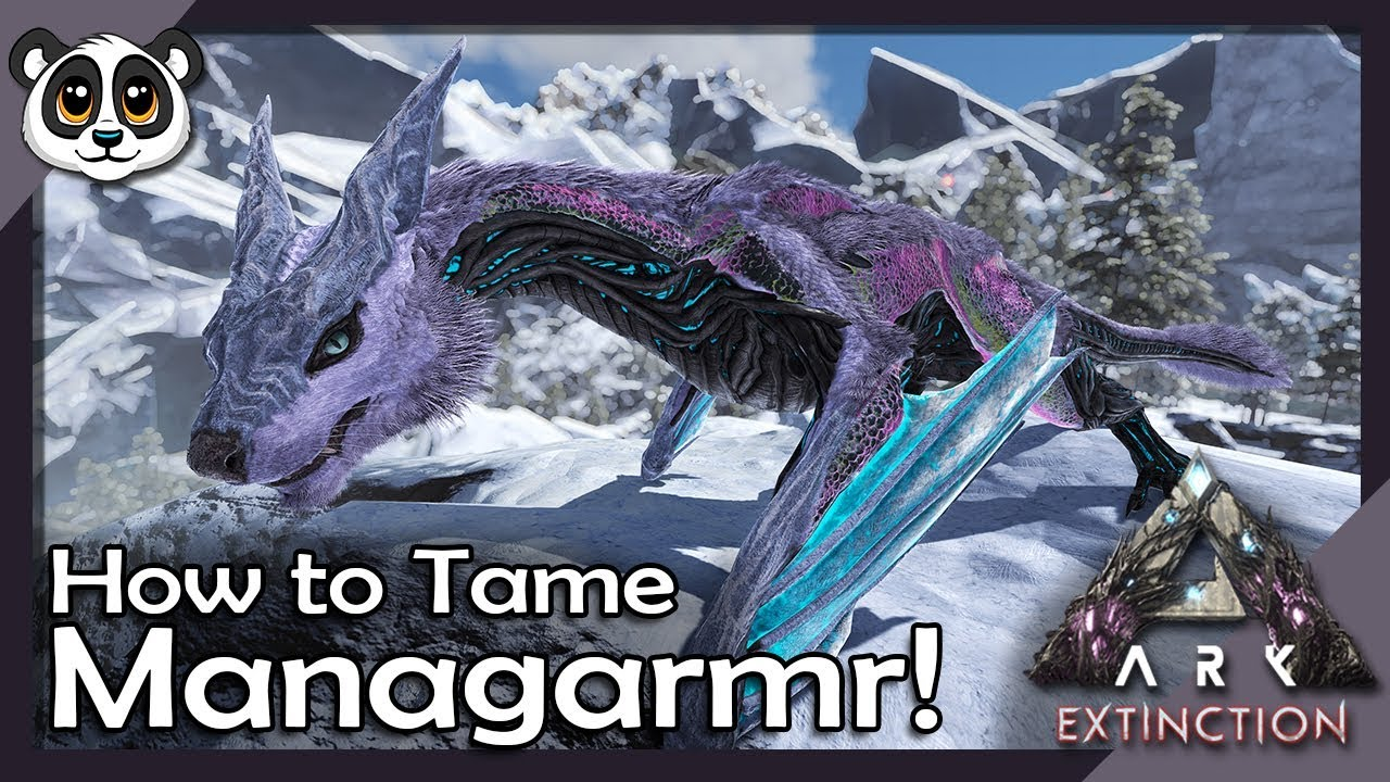 How To Tame Managarmr! | ARK: Extinction