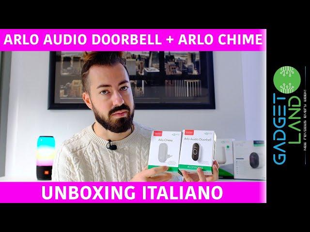 Recensione Arlo Audio Doorbell + Arlo Chime | Il Citofono Campanello Smart per tutti