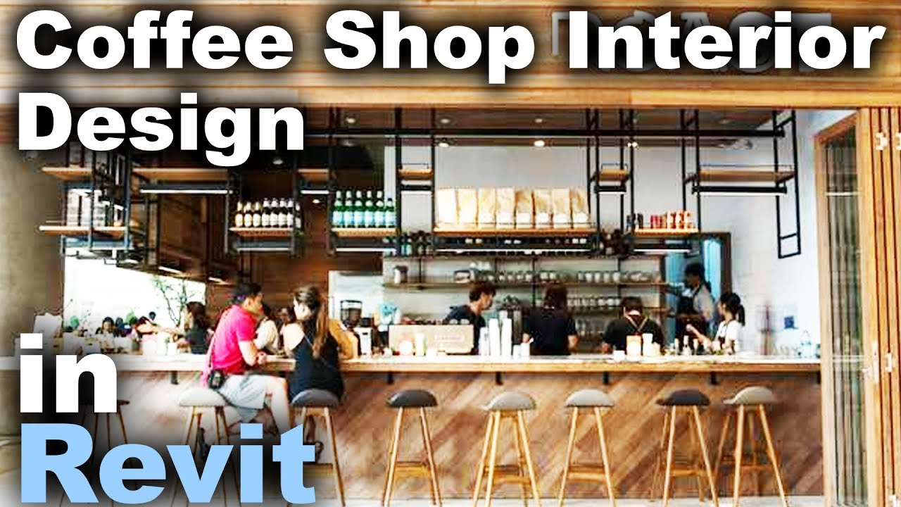 Where Do Interior Designers Get Furniture Rfa File ~ Cafe interior design in revit tutorial youtube