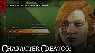 Dragon Age: Inquisition   Character Creator!