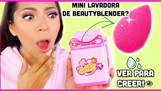 PROBAMOS MINI LAVADORA PARA BEAUTY BLENDERS FUNCIONA?♥BeautybyNena
