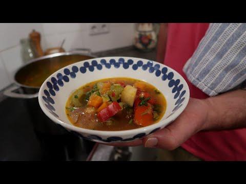 מרק פלא מרפא מאלף עד תיו עם מקס מלכיאל  מרק ירקות טבעוני Vegan Vegetable Soup