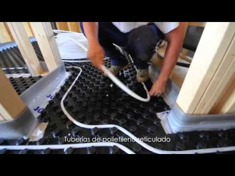 Instalaci n de suelo radiante youtube - Suelo radiante ...