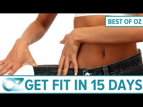 How to Lose Weight and Get More Energy in 15 Days  –  Best of Oz Collection