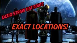 DC Universe Online Straw Hat route