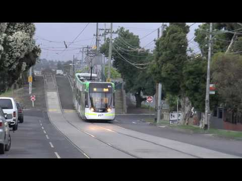 Melbourne Trams Route 86 E Class Day 1 - November 28th 2016