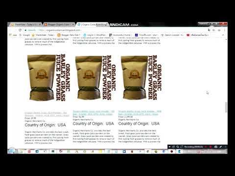 Organic Costa Rican Blonde Cane Sugar   20lb Bag   Kosher, NON GMO, Gluten Free   Organic Merchants