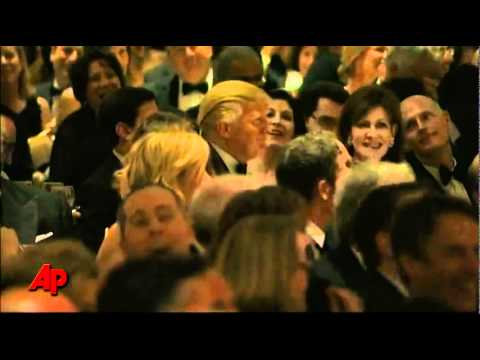 Image result for white house correspondents dinner where trump was roasted