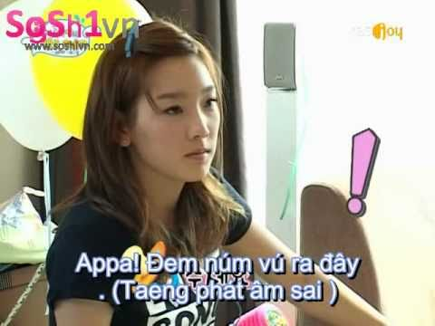 [Vietsub] SNSD Hello Baby Taeyeon's discreditable moment & devil laugh LOL