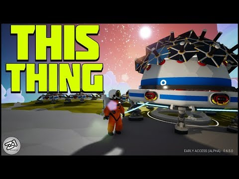BUILDING New Things With New STUFFS! Astroneer Update 6.5 | Z1 Gaming