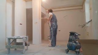 покраска стен, кухня #маляркавмолдове #отделкаимашины