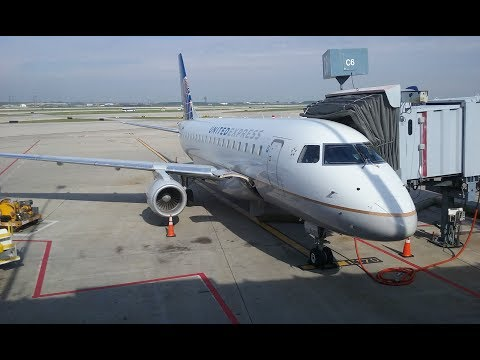 ravenhawk Takes Flight Episode 1: CHA to OKC Via ORD United Express Economy ERJ-145/E-170  May 2017