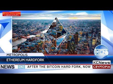 Ethereum announced the Metropolis hardfork