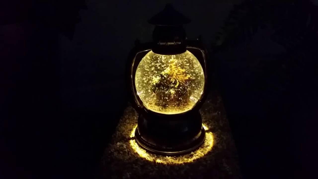 Konstsmide Weihnachtsbeleuchtung.Konstsmide Led Schnee Kugellaterne Weihnachtskrippe 1 Warmweiße Led