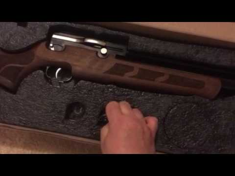 Kral Puncher Mega  25 with Turkish Walnut Stock  Part 1 unboxing