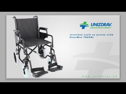 Invalidný vozík na prevoz osôb SteelMan TRAVEL - VIDEOMANUÁL