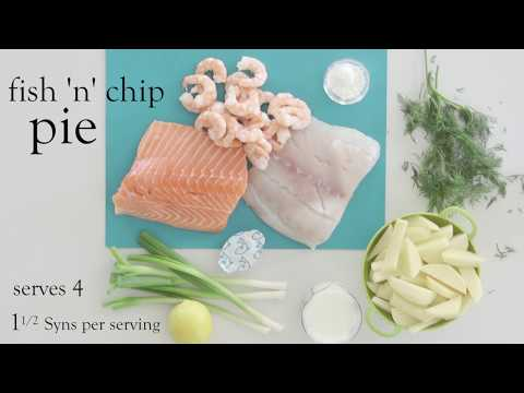 Slimming World Fish 'n' Chip Pie Recipe - 1½ Syns Per Serving