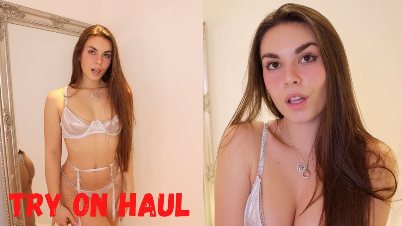 SEXY VALENTINES DAY TRY ON HAUL 2021 | Lauren Alexis