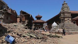ネパール地震・古都バクタプルの被害