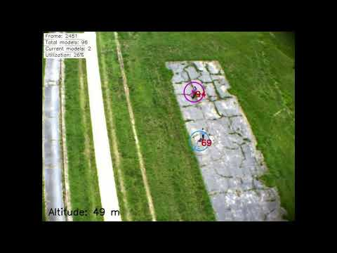 Visual Multiple Target Tracking From a Descending Aerial Vehicle
