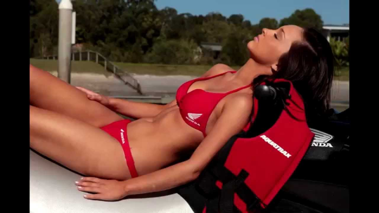 Honda Jet Ski >> Honda f-15X Jetski with Natalie Calendar Girl from Honda Jetskishop.com - YouTube