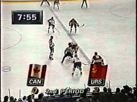 Олимпийские игры 1988 года, Калгари, СССР-Канада, 2 период