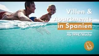 Villen & Apartments | Lass dein spanisches Abenteuer beginnen