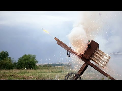 This 15th Century Weapon of War Fired 100 Arrows at Once
