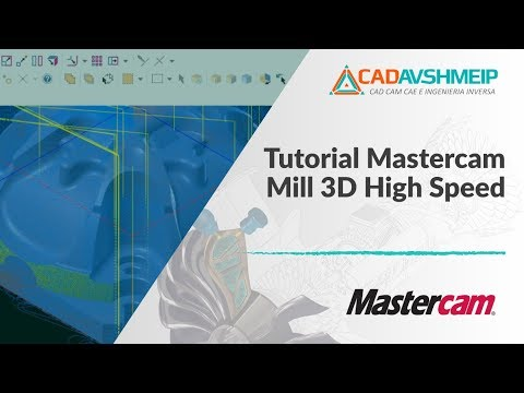 Tutorial Mastercam Mill 3D High Speed | Mesin Akademik us
