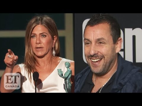 Adam Sandler Responds To Jennifer Aniston's Shout-Out At 2020 SAG Awards