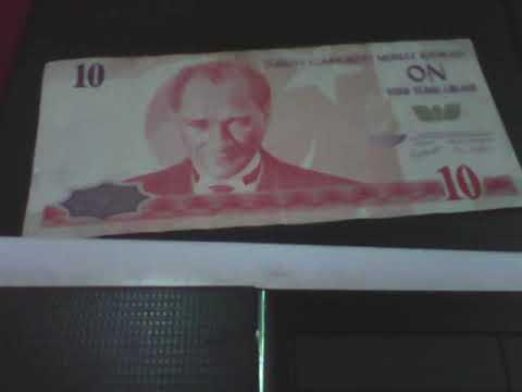 Banknote Of Turkey That Is 10 Lira